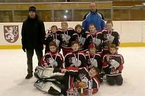 Družstvo přípravky HC Chrudim obsadilo na turnaji Šmoula Cup 3. místo.