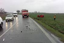 Hasiči zasahovali poslední březnový den na Chrudimsku u několika dopravních nehod.