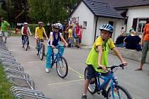 Školáci z Chrasti výborně obstáli v dopravní soutěži mladých cyklistů