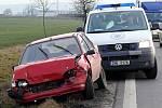 Řetězová nehoda mezi Chrudimí a Pardubicemi.