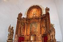 Oltář sv. Vojtěcha v Muzeu barokních soch