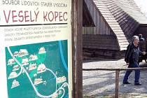 Skanzen na Veselém Kopci si však na nedostek zájmu návštěvníků nemůže naříkat.