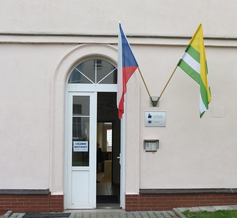 Z komunálních voleb 2014 v Nasavrkách.
