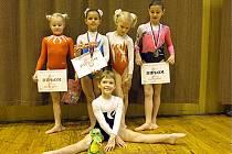 Úspěšné gymnastky.