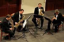 České saxofonové kvarteto.