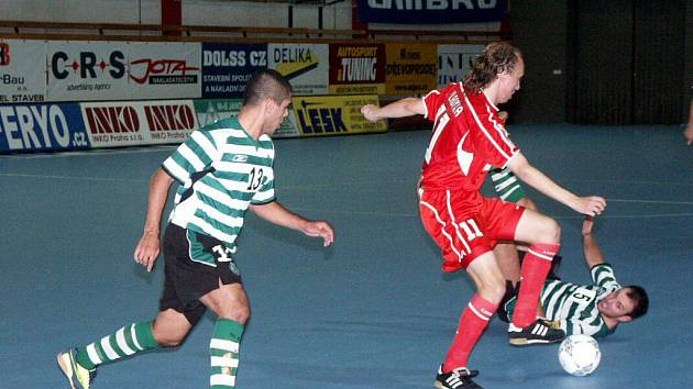 Era-Pack Chrudim už na portugalský Sporting Lisabon narazil v roce 2004, kdy s ním v heřmanoměstecké hale prohrál 2:3.