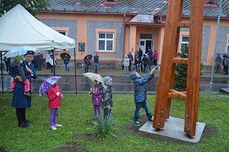 Nová zvonička v Miřetíně