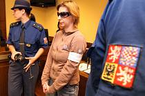 Marie Marková v polovině května před Krajským soudem v Hradci Králové