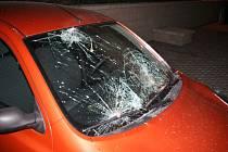 Auto zničené z nešťastné lásky