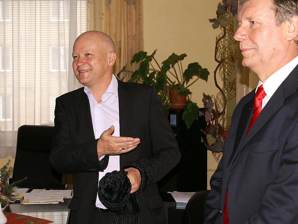 Ivan Hašek v Chrudimi 10. prosince 2009