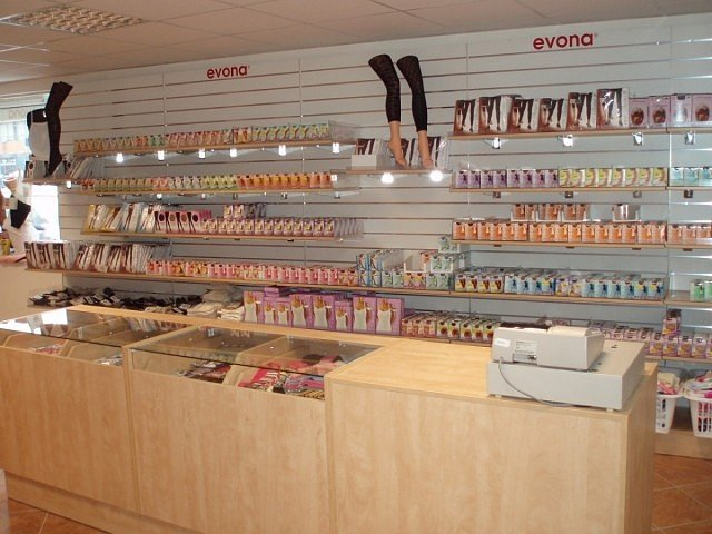 Podnikové prodejny Evony