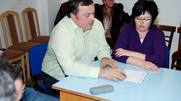 Ustavující zasedání zastupitelstva v Běstvině.