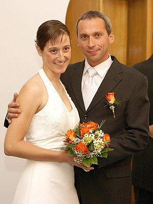Šťastný pár.