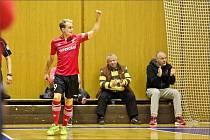 Futsalista ERA-PACKu Chrudim Tomáš Koudelka