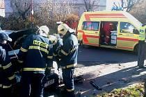 Při nehodě na křižovatce ulic Škroupova a Čs. Armády v Chrudimi byl zraněn 4letý chlapec.