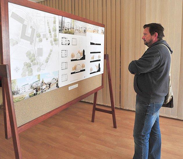 Zvýstavy po skončení architektonické soutěže.