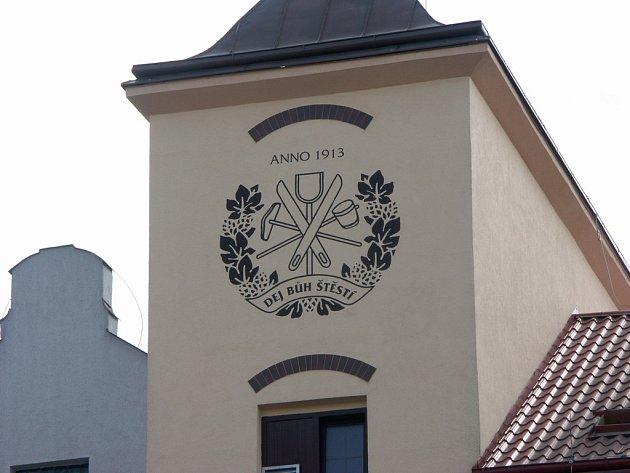 Budova hlineckého pivovaru Rychtář.
