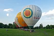 Start balonů na Ploché dráze