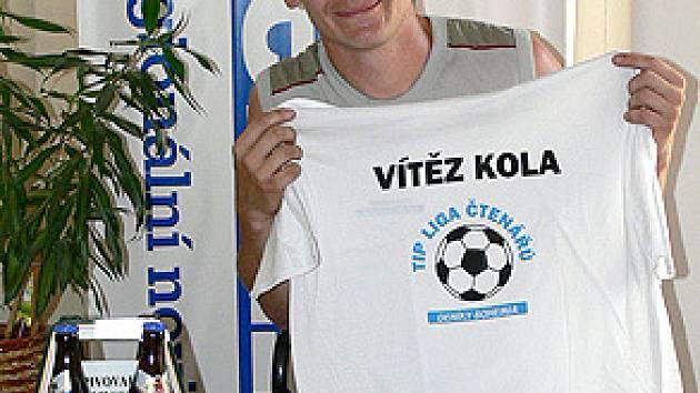 Jaroslav Marek je nejen fotbalistou Proseče, ale i výborným tipérem Tip ligy.