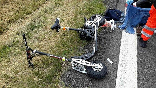Nehoda u Krouny.
