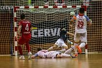 Pátá chrudimská radost v Chomutově znamenala razítko na postup do finále play-off 1. FUTSAL ligy!