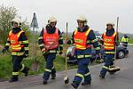 Páteční nehoda dvou aut u Ostřešan.