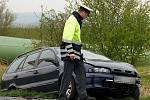 Nehoda u Ostřešan v pátek 15. dubna 2011