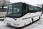 Na prezentaci nového autobusu společnosti Veolia nechyběl ani starosta Chrudimi Jan Čechlovský.