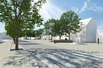 Vizualizace nové podoby přednádraží v Chrudimi
