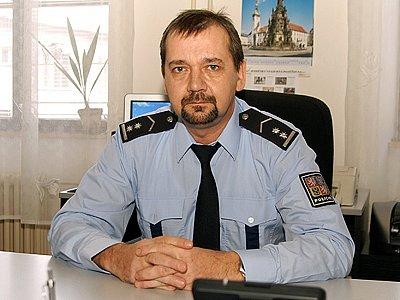Podplukovník Mgr. Jan Švadlenka.