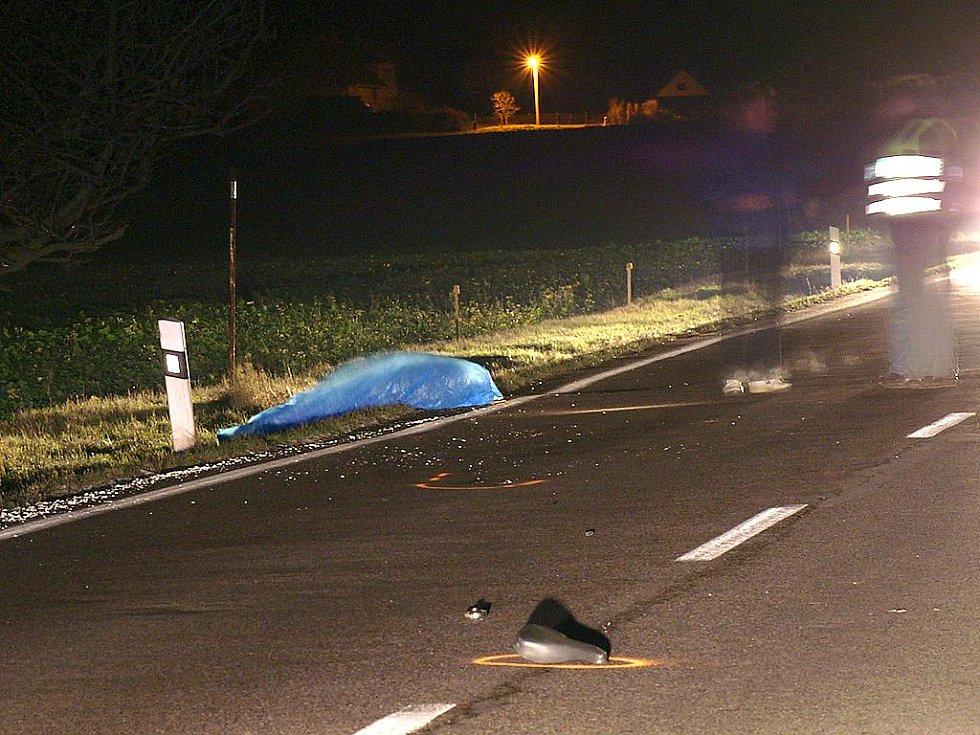 LIBÁŇ. Cyklista při nehodě na místě zahynul.