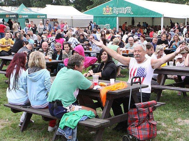 Léto s Rychtářem 2011 v Hlinsku zakončil Den otevřených dveří v areálu pivovaru Rychtář.