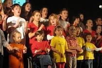 Benefiční Koncert pro Barborku v chrudimském R-Klubu.