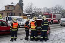 Ke střetu dvou osobních vozidel Renault Kango a Opel Corsa došlo během čtvrtečního odpoledne.