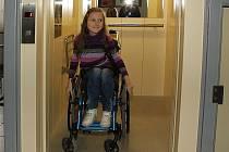Nový výtah v kulturním domě v Zaječicích pomůže hlavně tělesně postiženým.