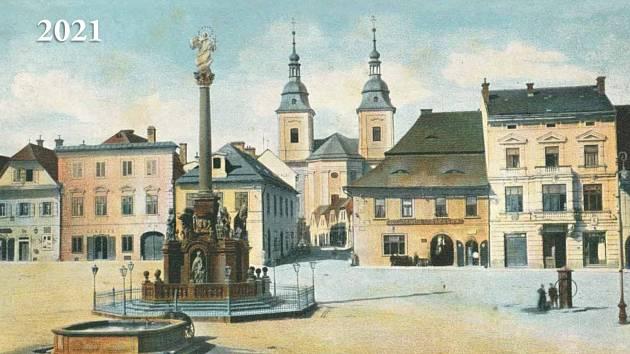 Kalendář 2021 – Žamberk na historických pohlednicích ze sbírky pana Jiřího Fogla.