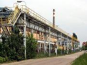 Průmyslová zóna v Chrudimi.