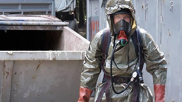 Likvidace skládky nebezpečného odpadu v Hodoníně začala již v roce 2006.