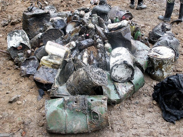 Nebezpečné odpady v Hodoníně jsou již minulostí.