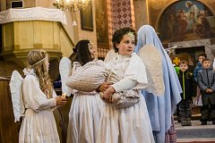 Zahájení adventu ve Včelákově