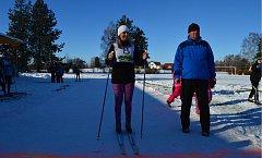 Biatlonové závody v Krouně