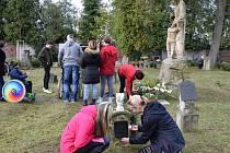 Vzpomínka na zemřelé pacienty Hamzovy léčebny.