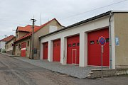 Stávající hasičská zbrojnice ve Skutči.