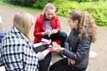Oblastní kolo soutěže mladých zdravotníků v chrudimském parku