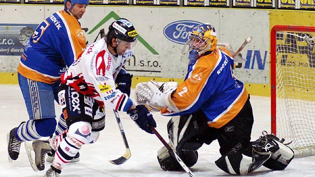 Chrudimští hokejisté si v prolínací části II. ligy poradili bez potíží s týmem Litoměřic a zvítězili jasně 8:0.