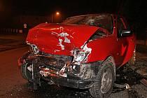 Za nehodou v Hlineckém Blatně stál alkohol.