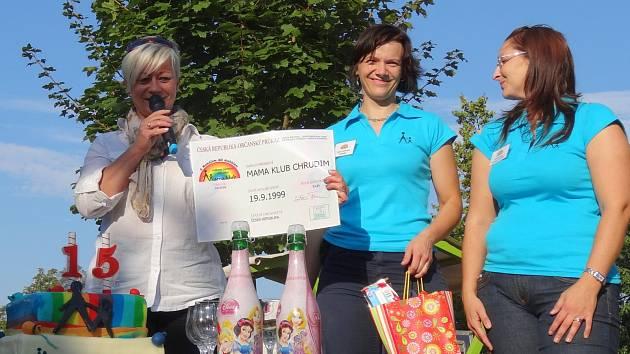 Mamaklub v Chrudimi slavil 15. narozeniny.