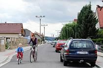 V Orli se mohou pochlubit několika novými silnicemi i chodníky.