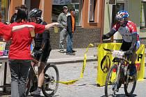 Z cyklistických závodů Author Cyklomaštale 2009 v Proseči.