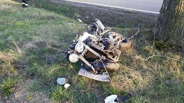Dopravní nehoda u Hlinska
